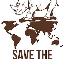 Save the Rhinos by tien1311