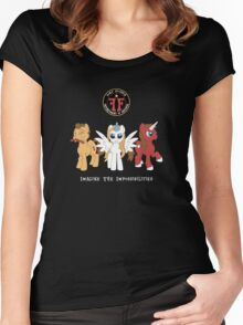 My Little Fringe Pony Women's Fitted Scoop T-Shirt