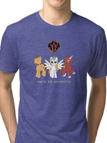 My Little Fringe Pony Tri-blend T-Shirt