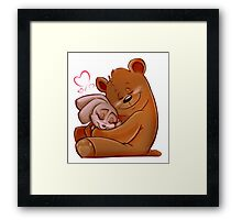 Honey Bunny Bear Framed Print