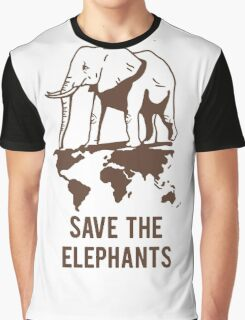Save the elephant Graphic T-Shirt