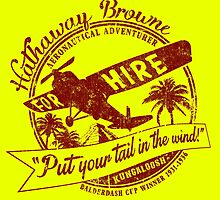 Hathaway For Hire (Red-Yellow) by Robiberg