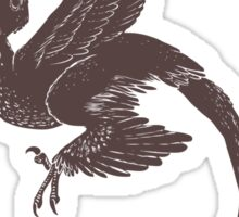 Microraptor 01 Sticker