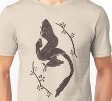 Microraptor and Ginkgo Unisex T-Shirt