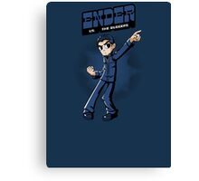 Ender vs. The Buggers Canvas Print