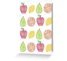 Delicious Doodles Greeting Card