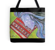 Sleeping Amina Tote Bag