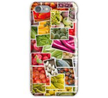 Fruits and Vegetables Collage iPhone Case/Skin