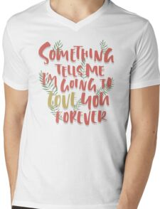 Love you Forever Mens V-Neck T-Shirt
