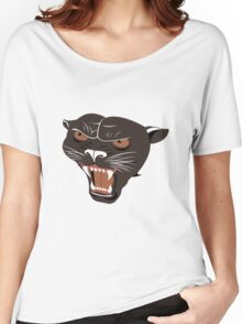 A Rowdy Panther Women's Relaxed Fit T-Shirt