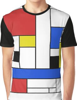 Mondrian Lines Graphic T-Shirt