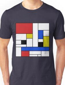 Mondrian Lines Unisex T-Shirt
