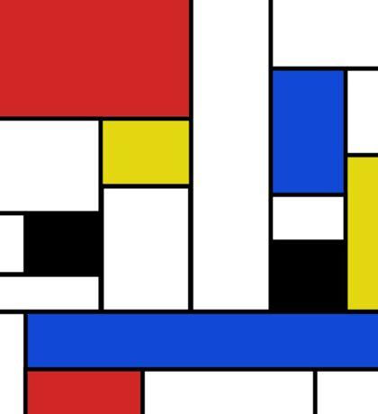 Mondrian Lines Sticker