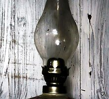 Old Oil Lamp . by RedCurrant8