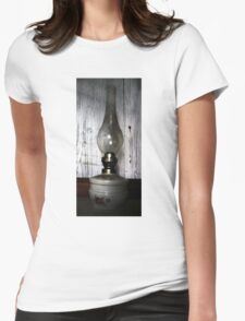 Old Oil Lamp . Womens Fitted T-Shirt