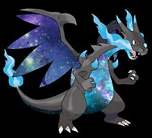 Mega Charizard X - Pokemon by MDoyle7