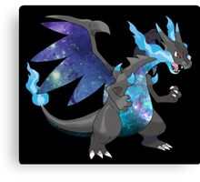 Mega Charizard X - Pokemon Canvas Print