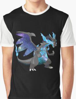 Mega Charizard X - Pokemon Graphic T-Shirt