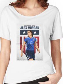 Alex Morgan Art Women's Relaxed Fit T-Shirt