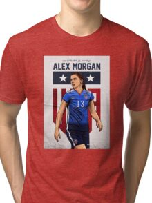 Alex Morgan Art Tri-blend T-Shirt