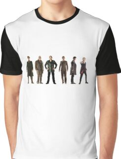 Doctor Who Lineup Graphic T-Shirt