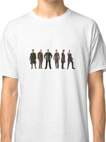 Doctor Who Lineup Classic T-Shirt