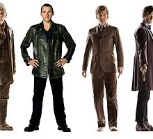 Doctor Who Lineup by rosesandvervain