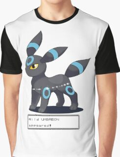 Wild Shiny Umbreon Appeared! Graphic T-Shirt