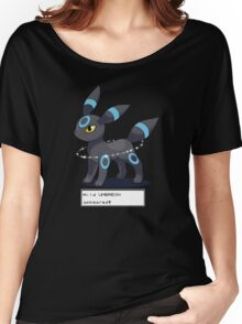 Wild Shiny Umbreon Appeared! Women's Relaxed Fit T-Shirt