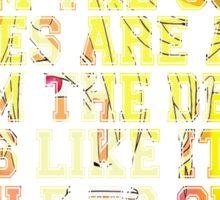 Sanji Quotes One Piece Sticker