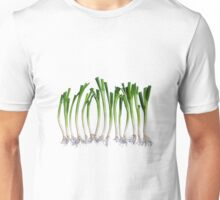 Go Veggie #1 : Green Onion Unisex T-Shirt
