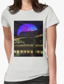 Epcot At Night Womens Fitted T-Shirt