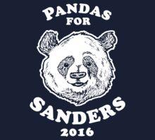 Pandas for Sanders One Piece - Short Sleeve