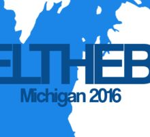#feelthebern - Michigan Sticker
