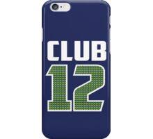 Club 12 iPhone Case/Skin