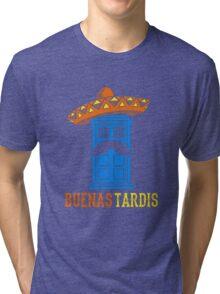 Buenas Tardis Hawai Tri-blend T-Shirt