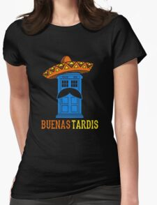 Buenas Tardis Hawai Womens Fitted T-Shirt