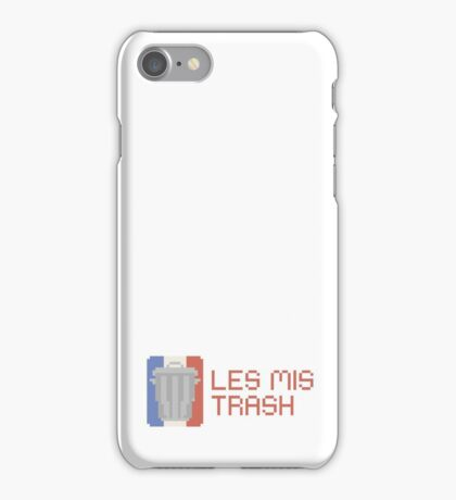 les mis trash iPhone Case/Skin