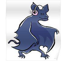 sonic bat Poster