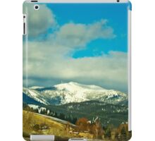 Snow Bowl/TV Mountain iPad Case/Skin