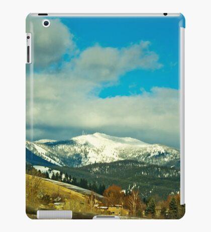 Snow Bowl/TV Mountain iPad Case/Skin