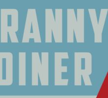 Granny's Diner Sticker