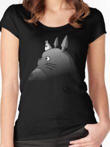 My Neighbor Totoro Studio Ghibli Women's Fitted Scoop T-Shirt