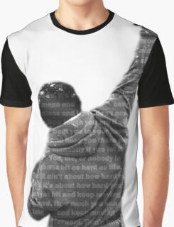 How Hard You Get Hit - Rocky Balboa Graphic T-Shirt