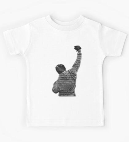 How Hard You Get Hit - Rocky Balboa Kids Tee