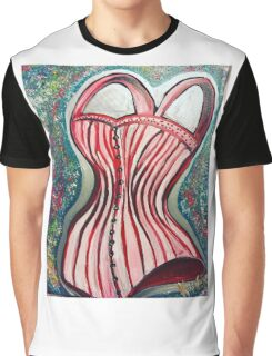 Corset Top Graphic T-Shirt