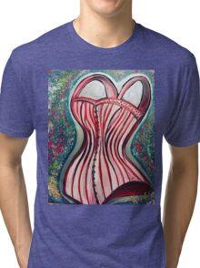 Corset Top Tri-blend T-Shirt