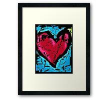 Valentine's Heart Framed Print