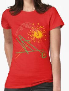 Sunny lines Womens Fitted T-Shirt