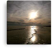 Folly Beach Sunset / Afternoon Canvas Print